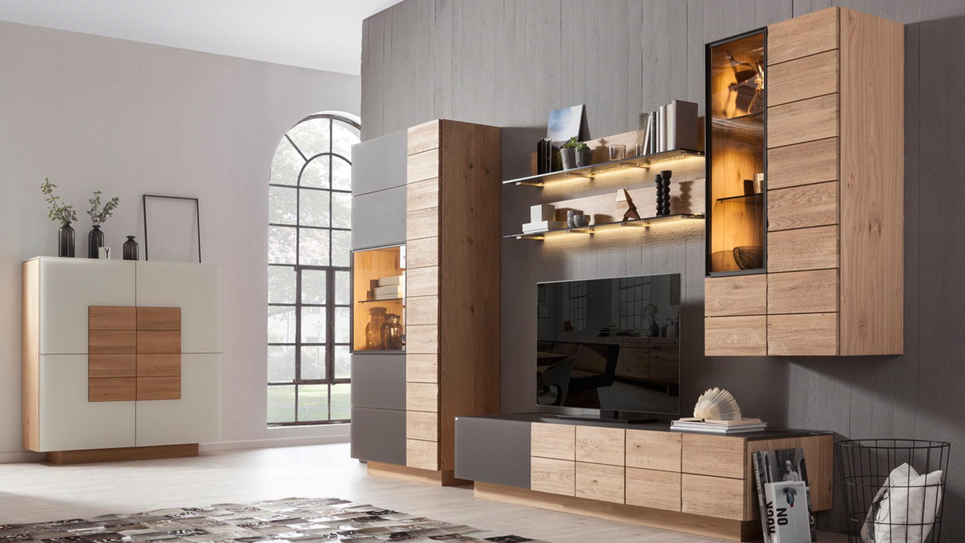 Möbel Arenz, Interliving, Wohnzimmer, Highboards, VOGLAUER ...